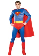 Authentic Adult Superman Costume