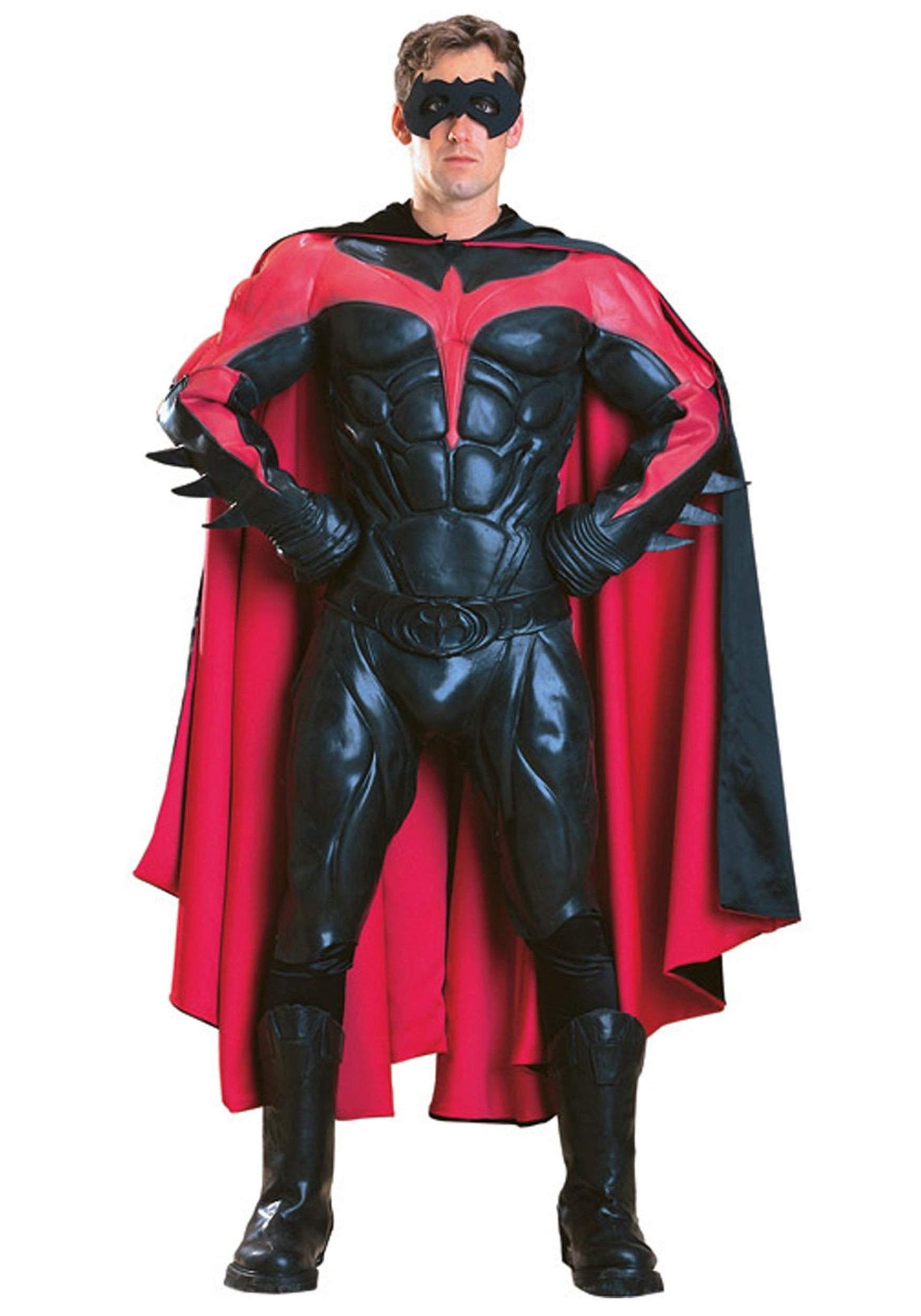 Authentic Adult Robin Costume  sc 1 st  Halloween Costume Ideas : 80s batman costume  - Germanpascual.Com